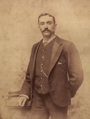 Edward 'Ned' Hanlon - BL-5304-96 (National Baseball Hall of Fame Library)