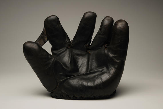 Glove used by Washington Senators 2B Stanley