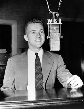 Broadcaster Ernie Harwell, 1942. BL-4593.2000
