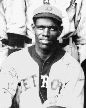 J. Preston 'Pete' Hill, Detroit Stars, 1920 - BL-2442.89 (National Baseball Hall of Fame Library)