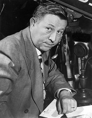 1980 Ford C. Frick Award Winner Russ Hodges - BL-6016-71 (National Baseball Hall of Fame Library)