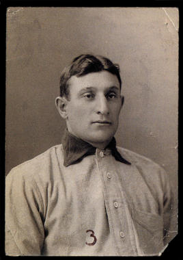 Honus Wagner, Pittsburgh Pirates, c. 1902 (Carl Horner/National Baseball Hall of Fame Library)