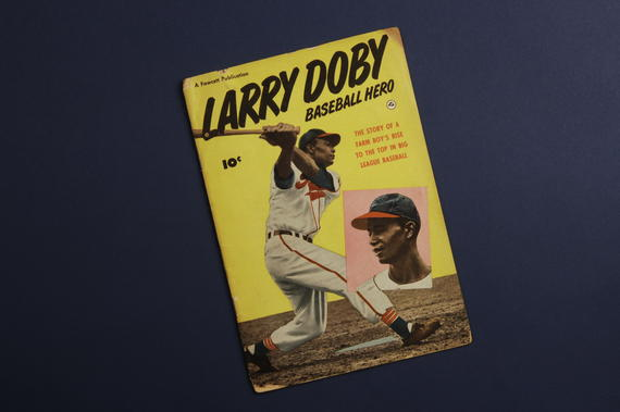 Larry Doby: Baseball Hero - Kurt Bloeser Comic Book Collection (Group 1) - BL-553.2006.27 (National Baseball Hall of Fame Library)