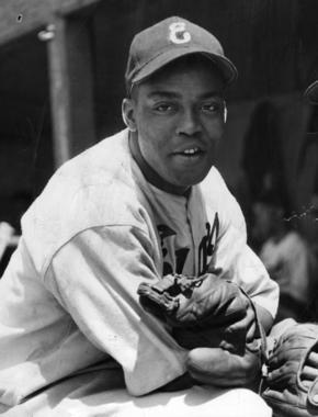 Monte Irvin, Newark Eagles - BL-4623-68HTq (National Baseball Hall of Fame Library)
