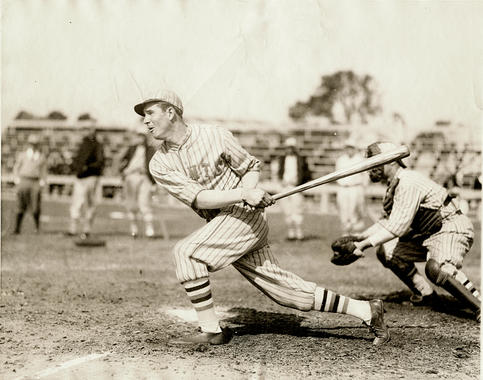 Travis Jackson of the New York Giants - BL-1377-52 (National Baseball Hall of Fame Library)