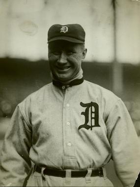 Hugh Jennings, Detroit Tigers - BL-1500-68WT (National Baseball Hall of Fame)