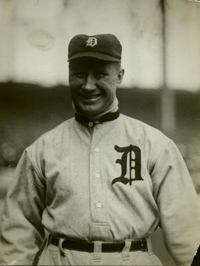 Hugh Jennings, Detroit Tigers - BL-1500-68WT (National Baseball Hall of Fame)