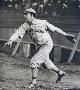 Addie Joss, Cleveland Naps - BL-211-74 (National Baseball Hall of Fame)