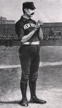 Tim Keefe, New York Giants - BL-302-64 (National Baseball Hall of Fame Library)