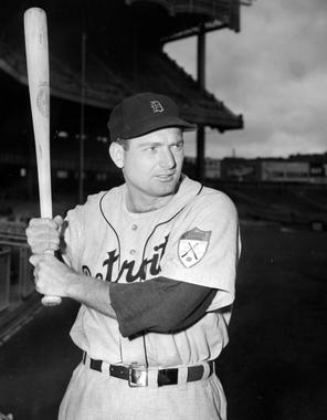 George Kell, Detroit Tigers, 1951 - BL-2501-68WTd (National Baseball Hall of Fame Library)