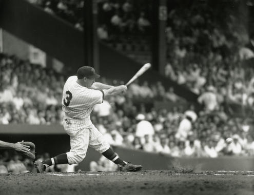 Washington Senators Harmon Killebrew batting in game, c.1960 - BL-2827-69 (Don Wingfield/National Baseball Hall of Fame Library)