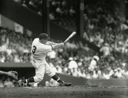 Washington Senators Harmon Killebrew batting in game, c.1960 - BL-2827-69 (Don Wingfield/National Baseball Hall of Fame Library)