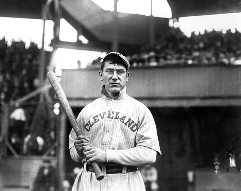 Napoleon Lajoie of the Cleveland Indians - BL-2424 (National Baseball Hall of Fame Library)