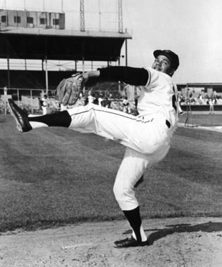 Juan Marichal throwing warm-up pitches - BL-1434-77 (National Baseball Hall of Fame Library)