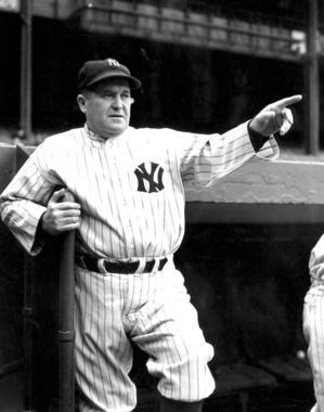 Joe McCarthy of the New York Yankees - BL-5630-95 (National Baseball Hall of Fame Library)