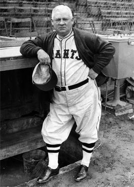 John McGraw as New York Giant - BL-3569-63 (National Baseball Hall of Fame Library)