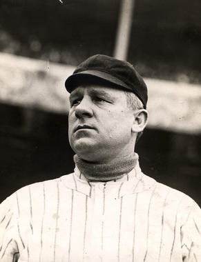 John McGraw, manager of the New York Giants. BL-6151.72e (National Baseball Hall of Fame Library)