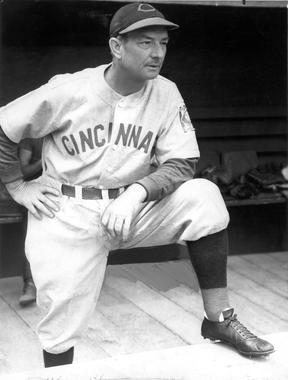 Bill McKechnie, Manager for the Cincinnati Reds, 1939 - BL-1523-68WT (William C. Greene/National Baseball Hall of Fame Library)