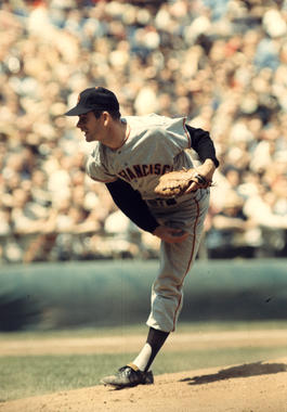 San Francisco Giants Gaylord Perry - BL-7481-89 (Photo File/National Baseball Hall of Fame Library)