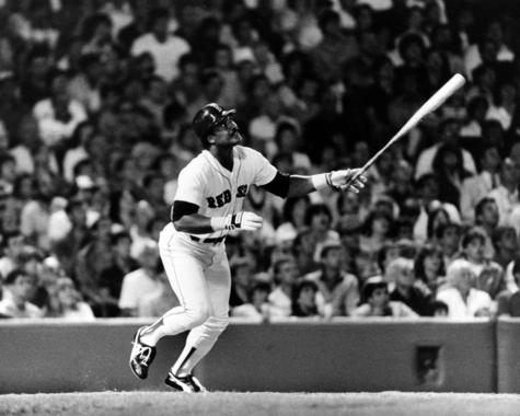 Jim Rice of the Boston Red Sox batting - BL-52-2009-28 (Boston Red Sox/National Baseball Hall of Fame Library)