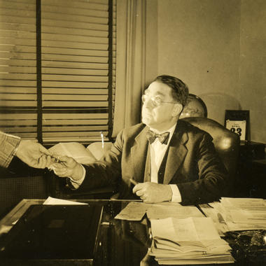 Baseball executive Branch Rickey, 1946 - BL-267-54-59 (Look Magazine/National Baseball Hall of Fame Library)