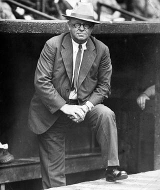Wilbert Robinson - BL-6213-72g (National Baseball Hall of Fame Library)