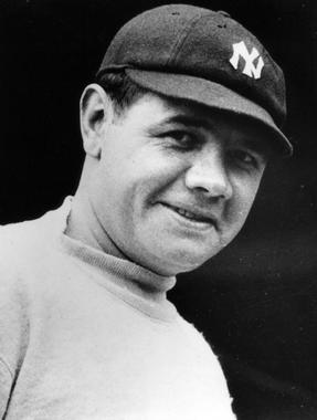 Babe Ruth, New York Yankees - BL-4065-99 (National Baseball Hall of Fame Library)
