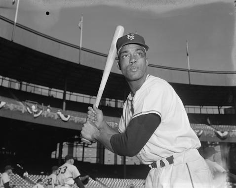 Starring in both the National and Negro National leagues, Hall of Famer Monte Irvin straddled the pre- and post-integration eras. After nine seasons in the NNL, Irvin joined Ford Smith as the first black ballplayers to sign with the New York Giants. (Osvaldo Salas / National Baseball Hall of Fame Library)