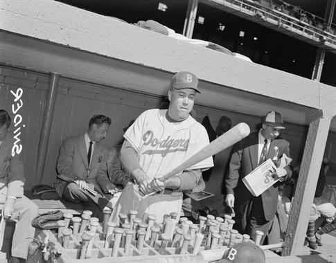 Duke Snider of the Brooklyn Dodgers - BL-Salas-303 (Osvaldo Salas/National Baseball Hall of Fame Library)