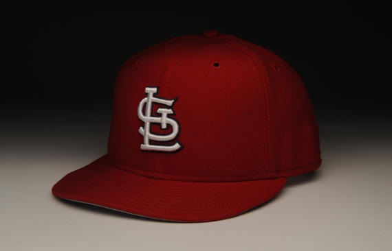 St. Louis Cardinals' uniform cap given to Red Schoendienst on May 11, 1996. This cap was part of the uniform used in the ceremonies on the day his jersey number