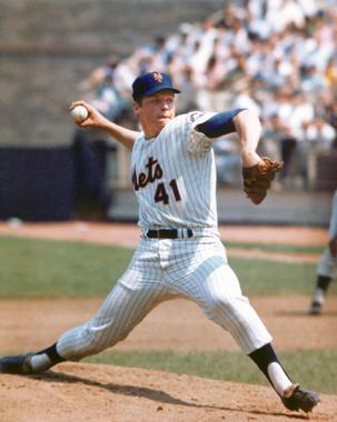 Tom Seaver of the New York Mets. BL-1703.75 (National Baseball Hall of Fame Library)
