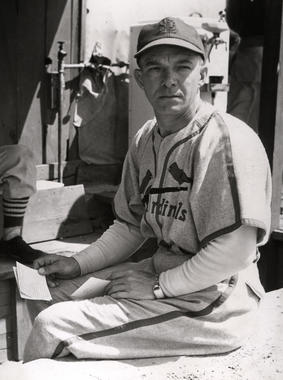 St. Louis Cardinals manager Billy Southworth - BL-3329-68WTi (National Baseball Hall of Fame Library)
