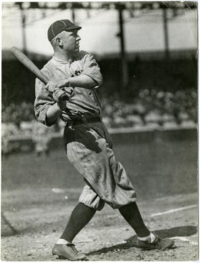 Hall of Fame centerfielder Tris Speaker remains fifth on baseball's all-time hits list with 3,514. BL-2233-80 (Charles Conlon / National Baseball Hall of Fame Library)