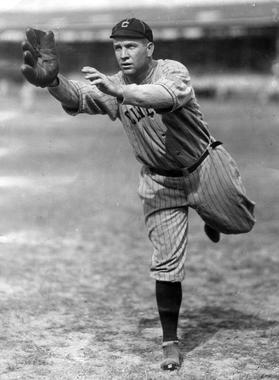 Tris Speaker of the Cleveland Indians - BL-670-68 (National Baseball Hall of Fame Library)