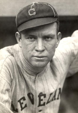 Head and shoulders of Cleveland Indians player and manager Tris Speaker, c. 1917. BL-757.46
