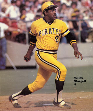 Game action batting of Willie Stargell of the Pittsburgh Pirates - BL-1288-80 (National Baseball Hall of Fame Library)