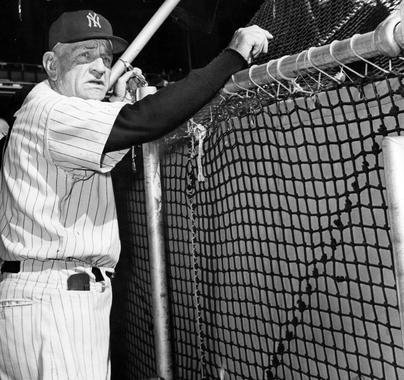 New York Yankees manager Casey Stengel, 1960 - BL-1539-68WTy (William C. Greene/National Baseball Hall of Fame Library)