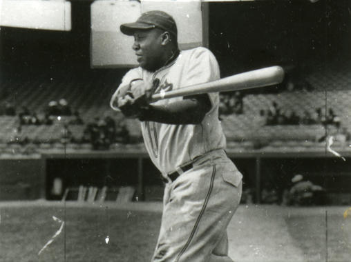 Mule Suttles of the Newark Eagles - BL-142-2008-17c2 (Larry Hogan/National Baseball Hall of Fame Library)