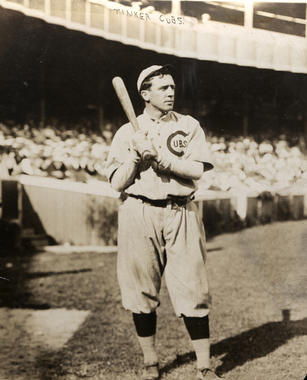 Joseph Tinker as Chicago Cub - BL-6318-72b (National Baseball Hall of Fame Library)
