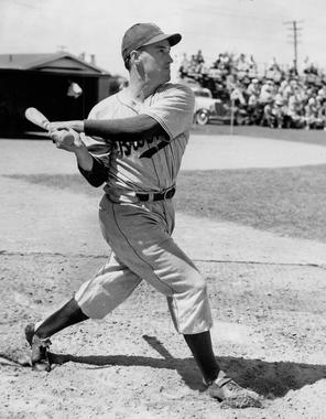 Arky Vaughan of the Brooklyn Dodgers - BL-3787-68WTj (National Baseball Hall of Fame Library)