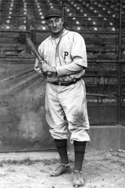 Honus Wagner, Pittsburgh Pirates - BL-1544-68 (National Baseball Hall of Fame Library)