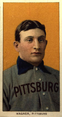 Honus Wagner T206 baseball card, 1909 - B-59-2000 (National Baseball Hall of Fame Library)