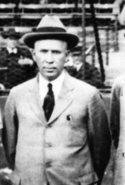 J.L. Wilkinson of Kansas City Monarchs, 1924 - BL-22390.71 (National Baseball Hall of Fame Library)