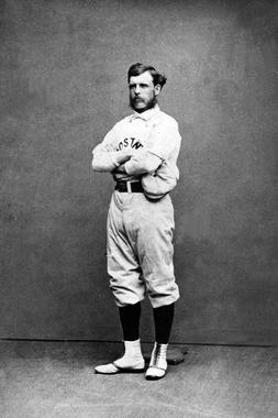 Boston's Harry Wright, c. 1870's - BL-5668-85 (National Baseball Hall of Fame Library)