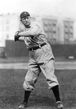 Cy Young warming up - BL-10198-89 (National Baseball Hall of Fame Library)