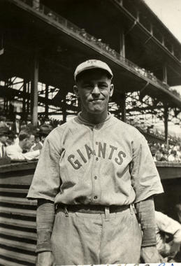 Ross Youngs of the New York Giants - BL-1088-74 (National Baseball Hall of Fame Library)