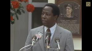 Hank Aaron 1982 Hall of Fame Induction Speech, 7:00
