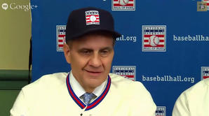 2014 Baseball Hall Of Fame Electee Hangout