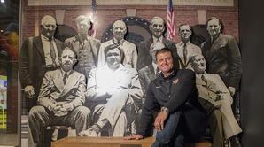 Trevor Hoffman Tours the Hall of Fame