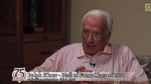 Hall of Fame Interview With Ralph Kiner - part 2